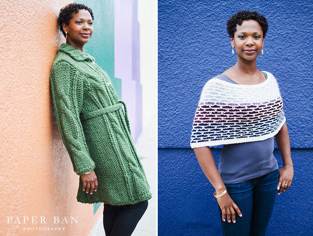Los Angeles Knitwear Lookbook photographer