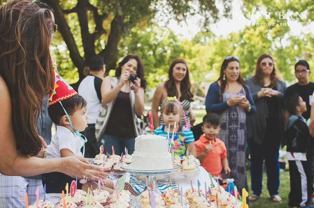 One Year Birthday Party Photographer