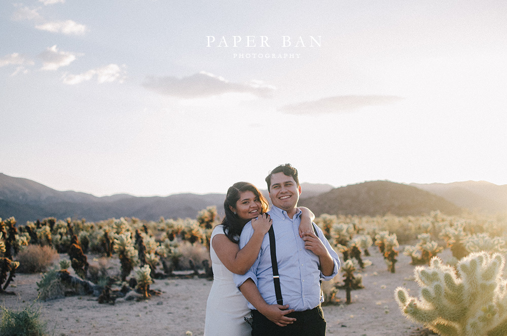 Los Angeles Joshua Tree Engagement Photography