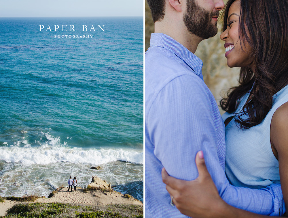 Los Angeles Malibu Beach Engagement Photography
