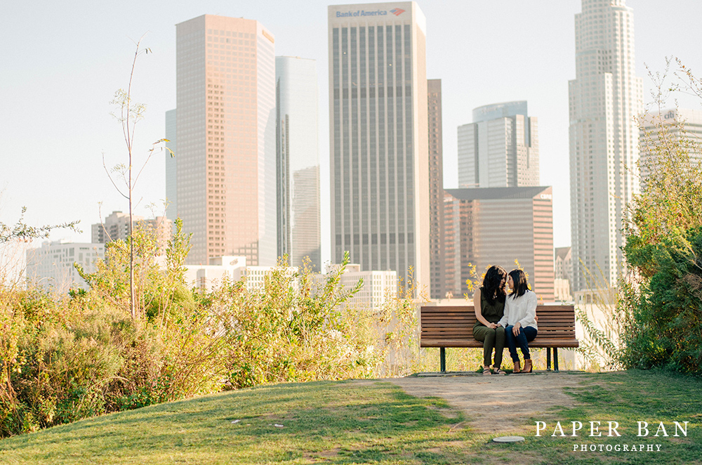 Los Angeles Same Sex Engagement Session