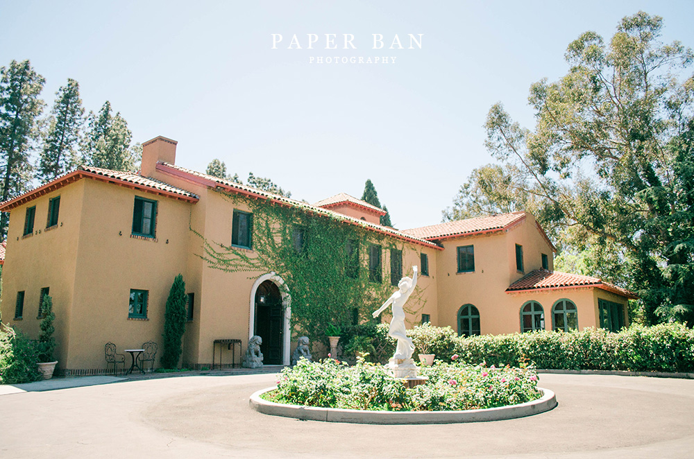 Intimate wedding Paramour Estate
