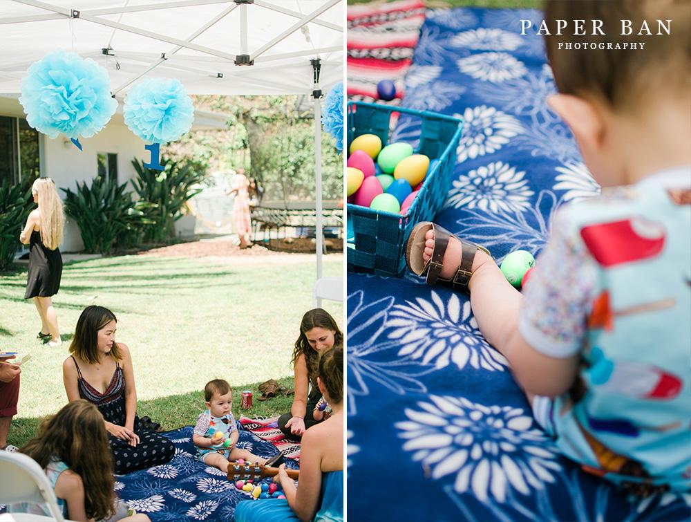 Birthday Backyard Party