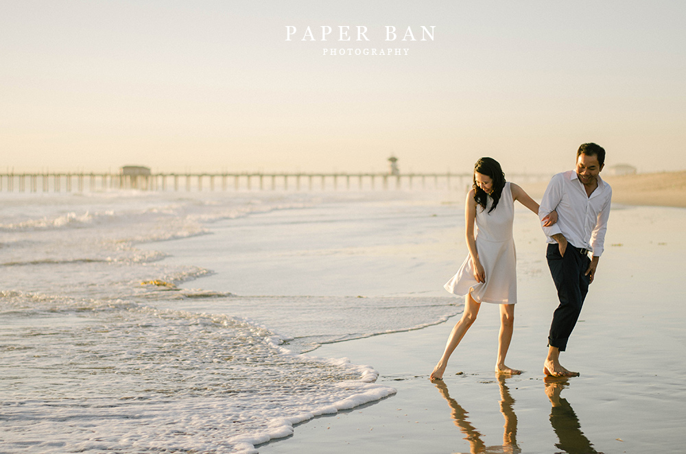 Los Angeles Huntington Beach Engagement Photography