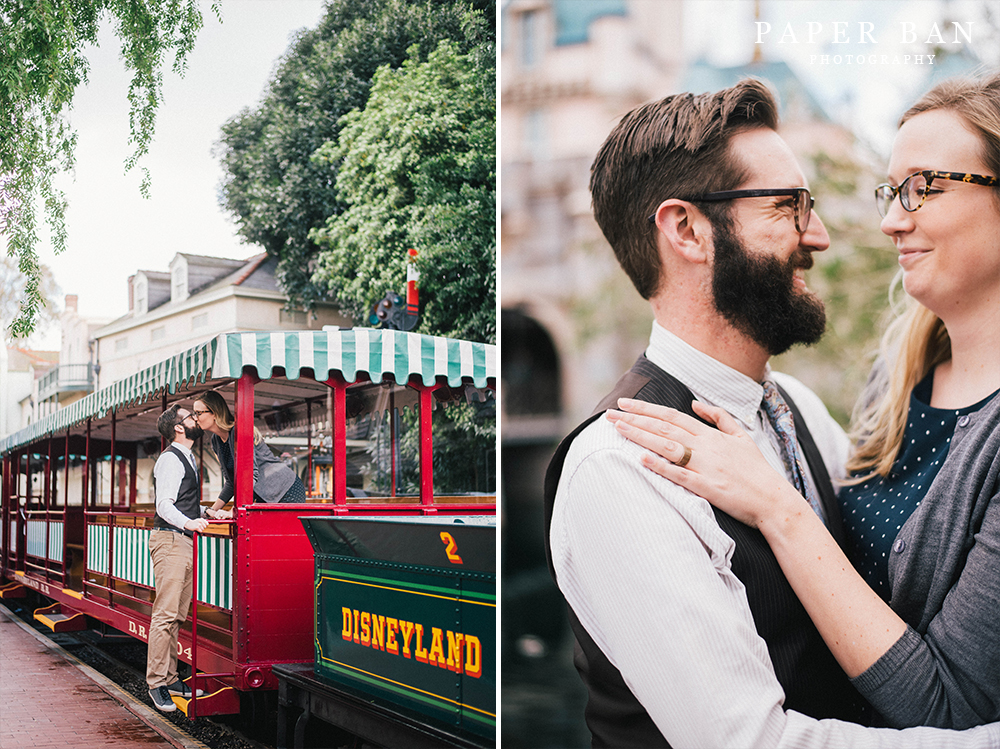 Los Angeles Disneyland Engagement Photography