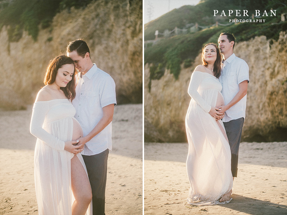 Beach Maternity Portrait Photographer