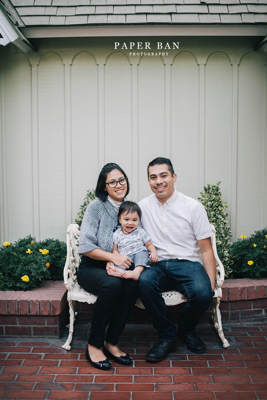 Disneyland Family Portrait
