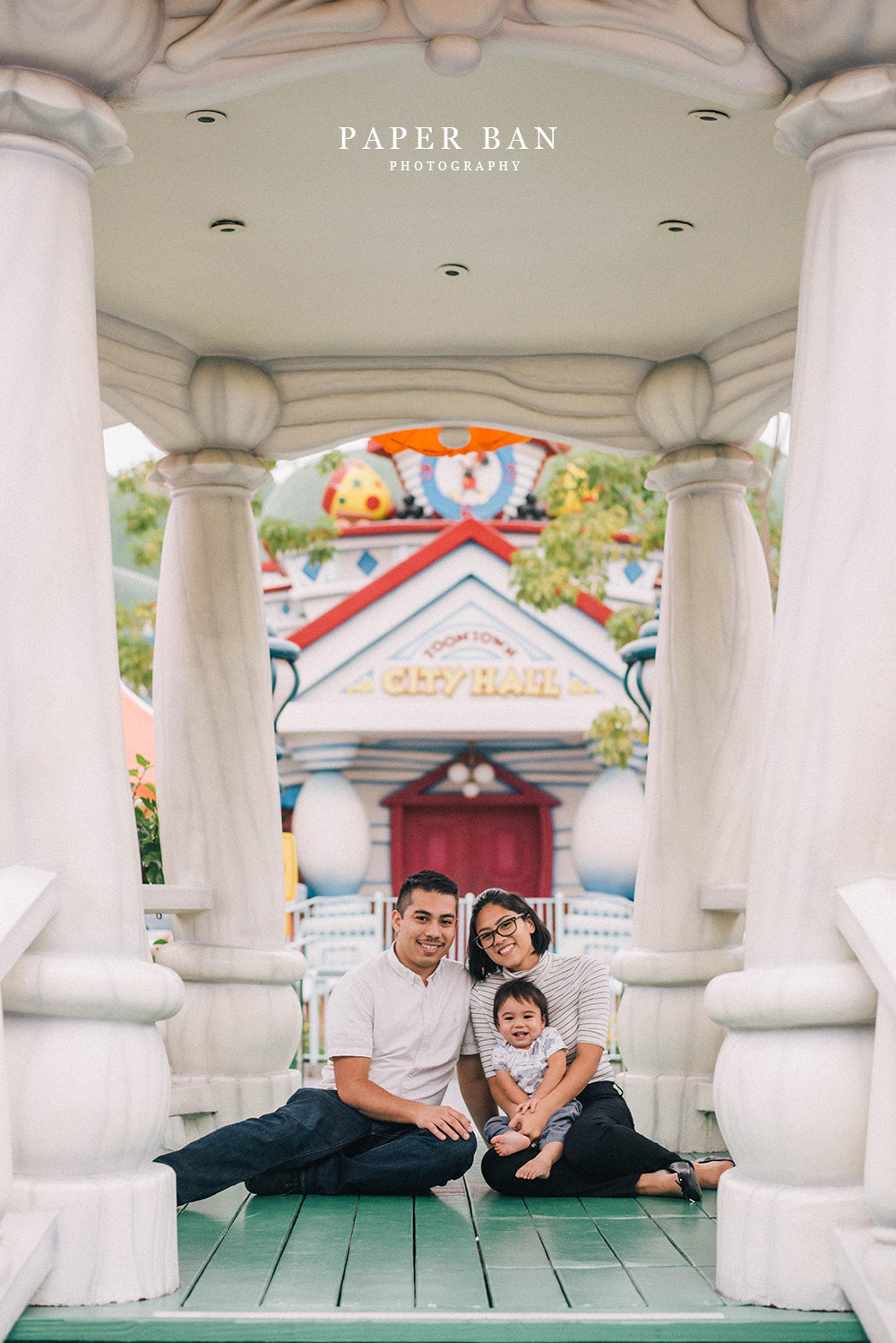 Disneyland Family Portrait