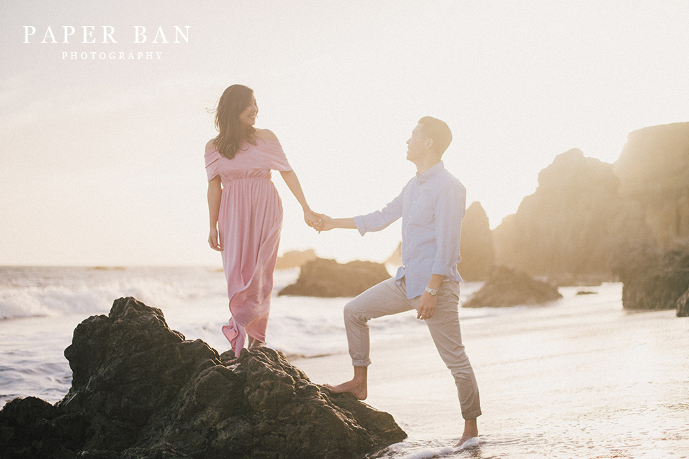 Malibu Engagement Portrait Photographer