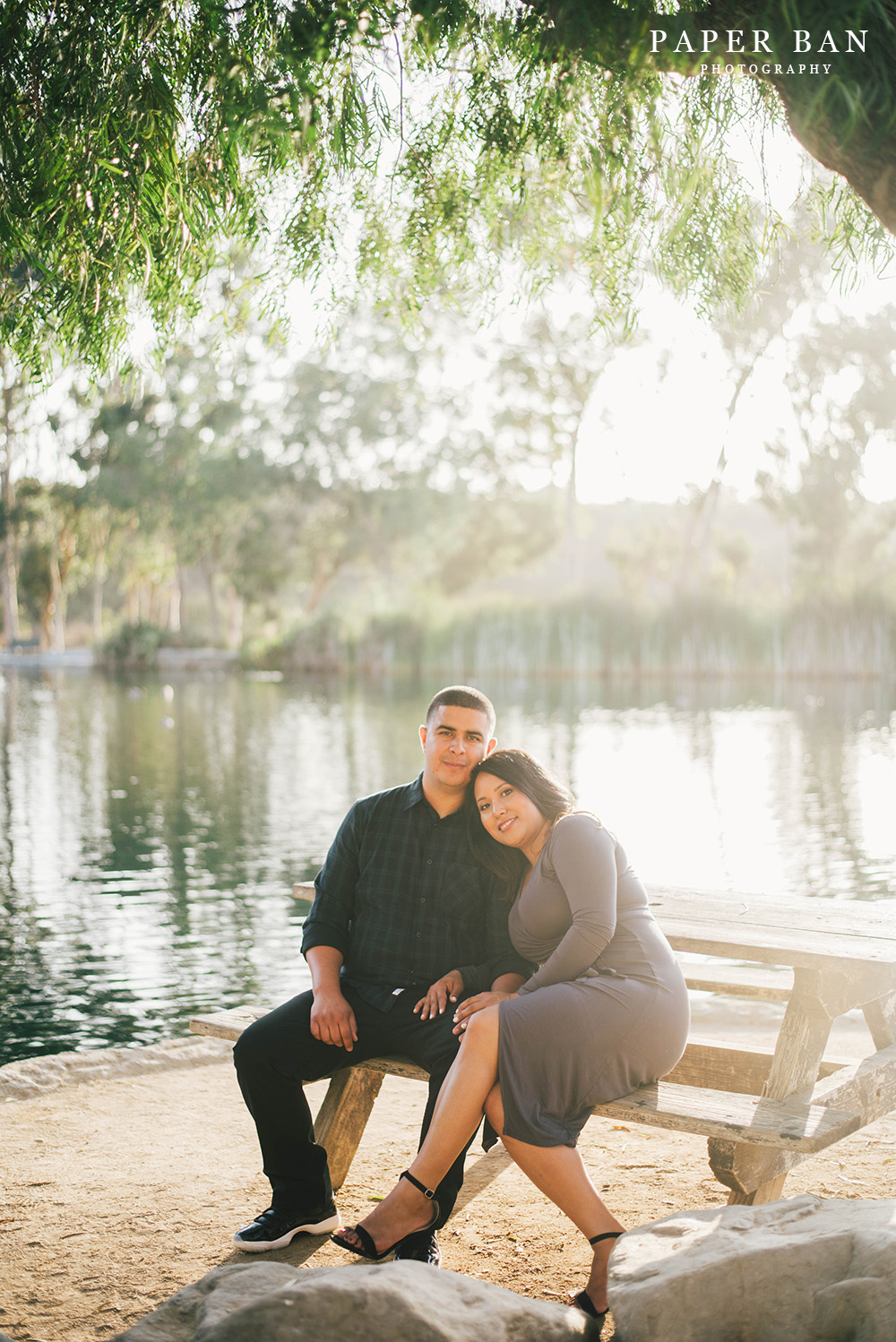 Los Angeles Engagement Portrait Session