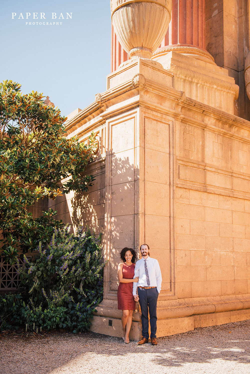 Palace of Fine Arts Engagement Portrait