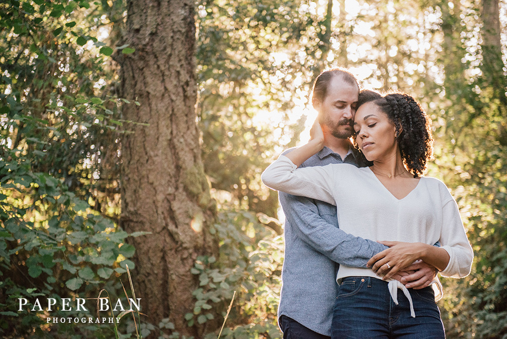 Muir Woods Engagement Portrait Photographer