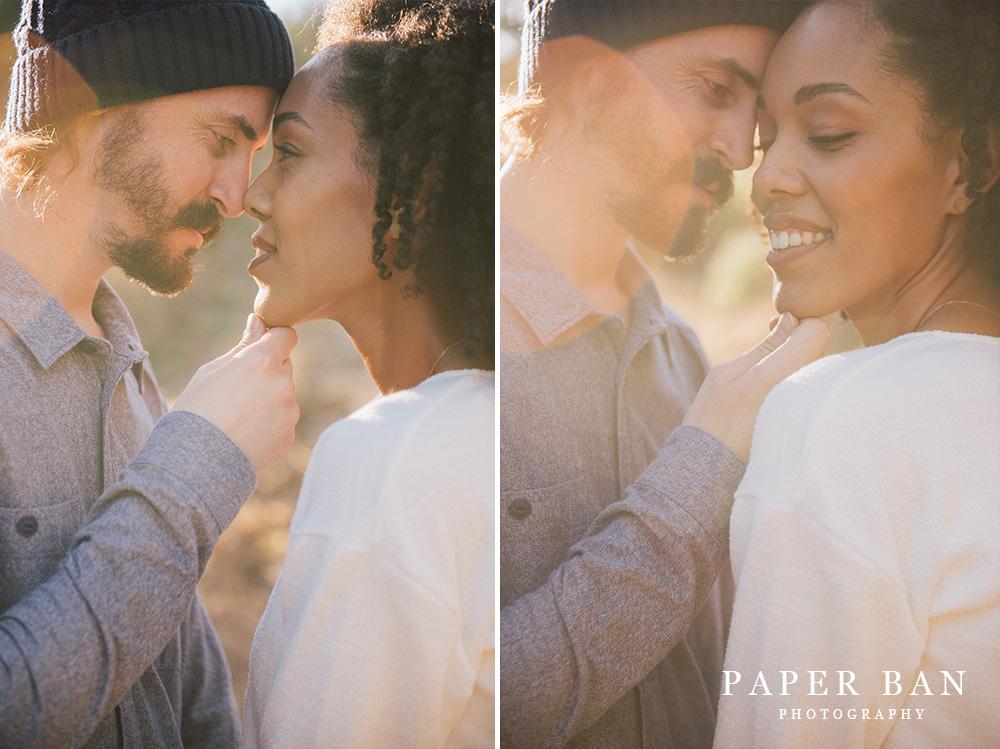 Muir Woods Engagement Portrait Photographer