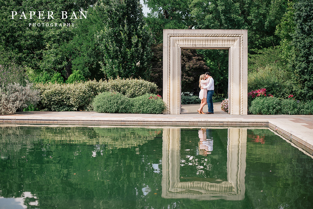 Dallas Arboretum Engagement Photograph